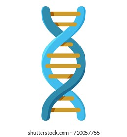 Genetics icon. Cartoon illustration of genetics vector icon for web