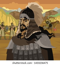 genghis khan ancient general warrior founder of the mongol empire