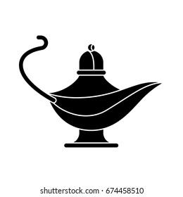 Aladdin Lamp Silhouette Images Stock Photos Vectors