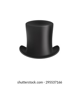 Gentleman hat in black design