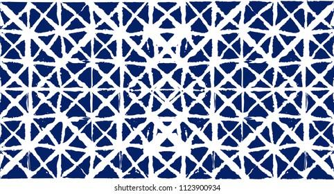 Geo Pattern, Japanese Kimono Asian Organic Texture. Wabi Sabi, Tie Dye, Ikat Geisha Fashion Pattern. Minimalist Asian Boho Geo Pattern Clothes Summer Background. Retro Vintage Minimal Kimono Texture.