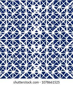 Geo Pattern, Japanese Kimono Organic Texture Element Wabi Sabi, Tie Dye, Ikat Geisha Fashion Pattern. Trendy Cool Asian Boho Geo Pattern Fashion Spring Background Retro Vintage Minimal Kimono Texture.