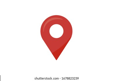 Geo tag icon isolated. Symbol, logo illustration for mobile concept and web design.