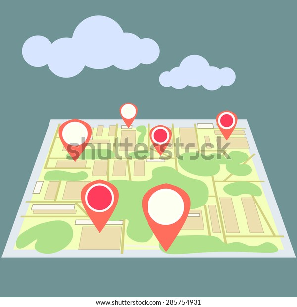 Geolocation on the map