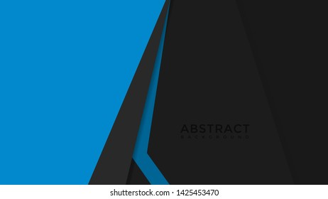 geometric abstrac background blue colorful wallpaper