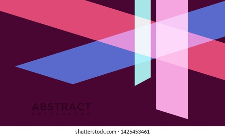 geometric abstrac background colorful wallpaper isolated on purple color