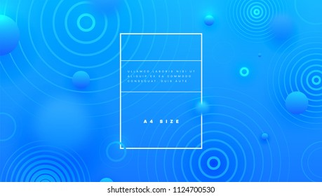 Geometric abstract background with trendy patterns and blurred elements. Vector eps10 illustration