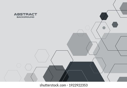 Geometric abstract  background , Vector and illustration banner poster template