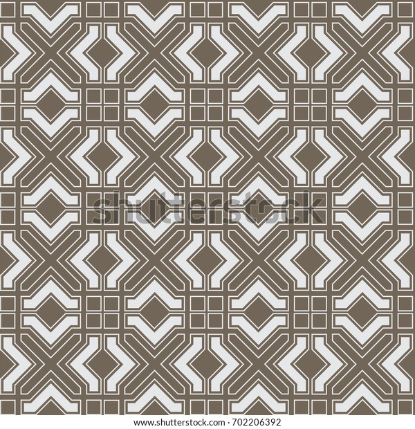 Geometric abstract seamless pattern in Arabian style. Vector background. Islamic texture,graphic arabic pattern