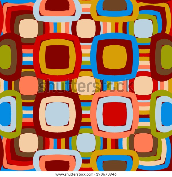 Geometric Abstract Texture Stock Vector (Royalty Free) 198673946