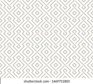 Geometric Arabic light gray pattern