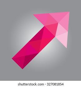 geometric arrrow