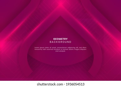 Geometric background. Elegant and Modern Purple geometric background design good for your business or element design. Good for print template, backdrop, flyer, presentation, poster