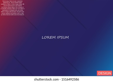 Geometric background. Lorem ipsum Dynamic shapes composition