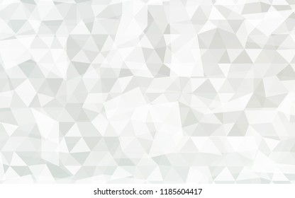 Geometric Background With Transparent Triangles. Vector Illustration. For Your Business Design, Presentation