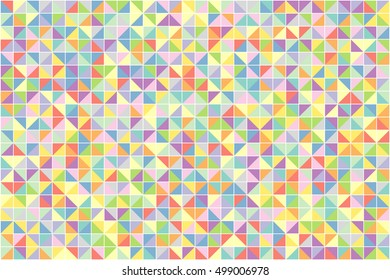 Geometric background of triangles