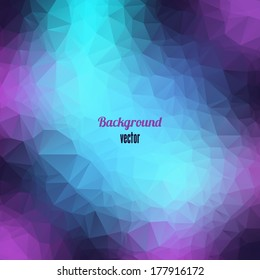 Geometric background with triangles. Vector EPS 10.