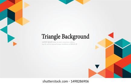 geometric background vector 10 eps