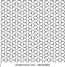 geometric black and white pattern