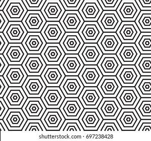 geometric black and white pattern