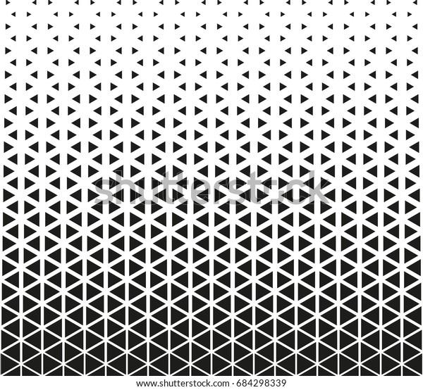 Geometrisches Schwarz Weiß Muster Stock Vektorgrafik Lizenzfrei 684298339