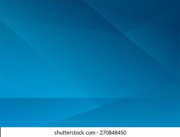 Геометрический синий абстрактный фон. Векторный дизайн иллюстрации EPS10
