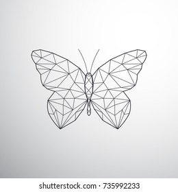 4ea17fa03 Geometric Butterfly Images, Stock Photos & Vectors | Shutterstock