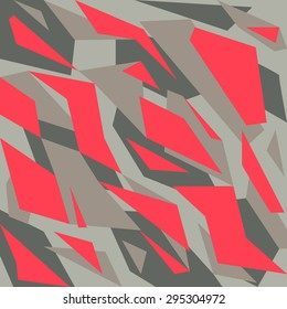 Geometric camouflage pattern background