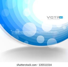 Geometric Circles Modern Design Template - eps10 Background