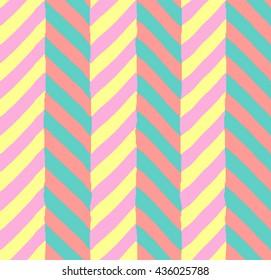Geometric colofful angle seamless pattern