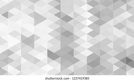 Geometric design. Colorful gradient mosaic background. Geometric triangle, mosaic, abstract background. Mosaic, one-color background. Mosaic texture. The effect of stained glass. EPS 10 Vector