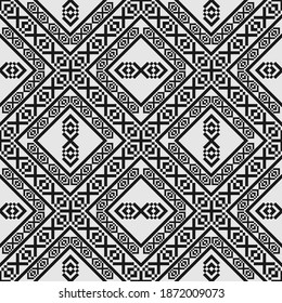 Geometric design seamless pattern for fabric industries