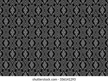 Geometric ethnic pattern design for background or wallpaper and clothing .