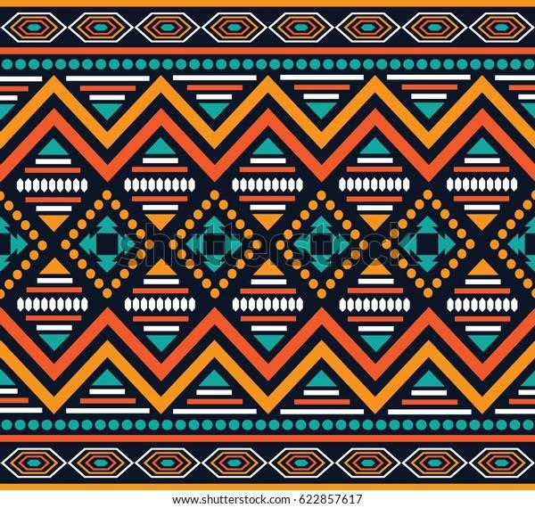 https www shutterstock com fr image vector geometric ethnic pattern embroidery design background 622857617