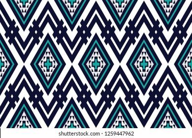 Geometric ethnic pattern traditional Design for background,carpet,wallpaper,