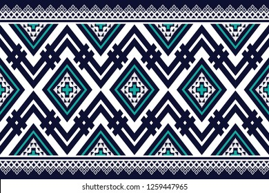 Geometric ethnic pattern traditional Design for background,carpet,wallpaper,