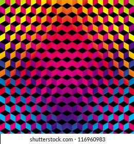 Geometric Gradient Color Background