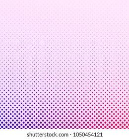 Geometric gradient halftone dot pattern background - vector graphic design