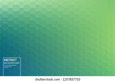 Geometric Green Background from Octagon, for Posters, start pages, Slides. Mosaic Template for your Design, Slides, start pages, Video Intros.