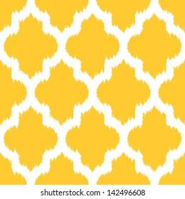 Geometric Ikat Background Pattern
