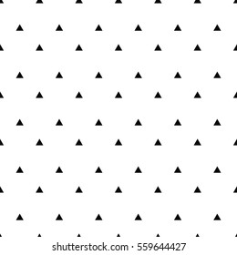 Geometric line monochrome abstract seamless pattern with triangle. Wrapping paper. Scrapbook paper. Tiling. Vector illustration. Background. Graphic texture for design, wallpaper.