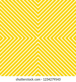 Geometric linear background, geometric print, banner with lines, abstract poster, optical illusion. Vector illustration