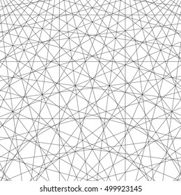 geometric lines, abstract format. line design. black line on a white background. vector illustration.