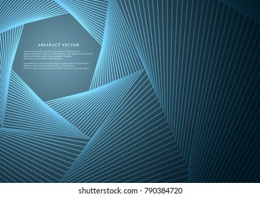 Geometric lines or stripes on a bright background. Abstract modern design. Vector illustration. Insulated
