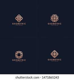 Geometric Logo collection.  Pack of premium logos.