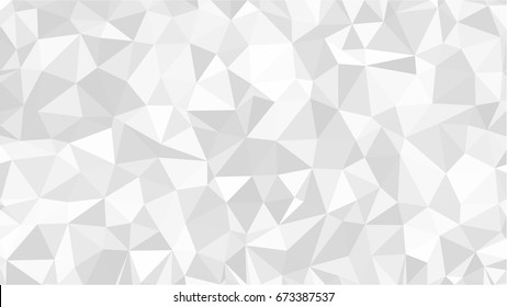 Geometric low poly background with triangular polygons. Abstract design. Vector illustration