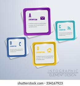 Geometric modern Infographic design element banner.education and business concept design,can used for banner,infographic,data,presentation business,chart,sign,brochure,leaflet,web.Vector illustration.