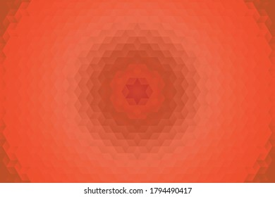 Geometric mosaic of red rectangle blurred elements. Abstract modern background for any project. Concept vector illustration easy to edit and customise. Eps10