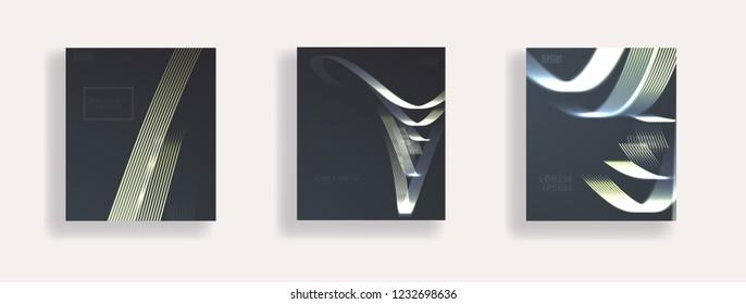 geometric motion elapse flaer vector design
