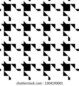 Geometric ornament. Figures backdrop. Modern wallpaper. Geometrical background. Mosaic motif. Seamless abstract. Triangles, quadrangles, polygons pattern. Digital paper, textile print, web design